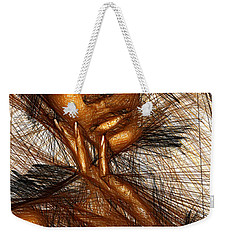 Gold Fingers Weekender Tote Bag