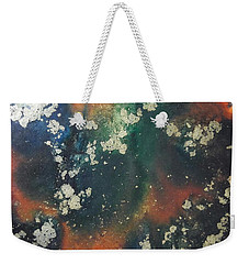 Gold Flecked Weekender Tote Bag
