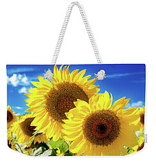 Weekender Tote Bag featuring the photograph Gold by Greg Fortier
