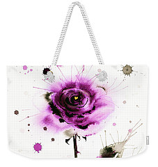 Gold Heart Of The Rose Weekender Tote Bag