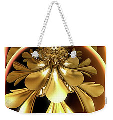 Gold Lacquer Weekender Tote Bag