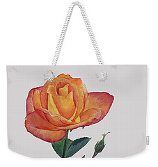 Gold Medal Rose Weekender Tote Bag