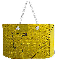 Gold Parchment Weekender Tote Bag