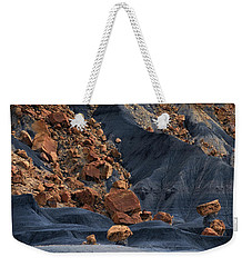 Weekender Tote Bag featuring the photograph Gold Rush by Edgars Erglis