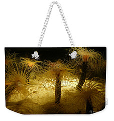 Gold Sea Anemones Weekender Tote Bag