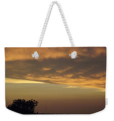 Gold Sky Over Lake Of The Ozarks Weekender Tote Bag