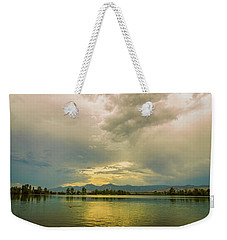 Weekender Tote Bag featuring the photograph Golden Afternoon by James BO Insogna