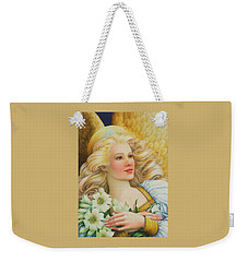 Golden Angel Weekender Tote Bag