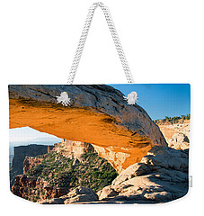 Golden Arch Weekender Tote Bag