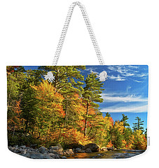 Golden Autumn Light Nh Weekender Tote Bag