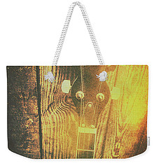 Golden Banjo Neck In Retro Folk Style Weekender Tote Bag by Jorgo Photography - Wall Art Gallery