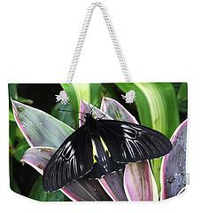 Golden Birdwing Weekender Tote Bag