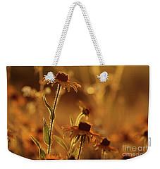 Golden Black Eyed Susan Weekender Tote Bag