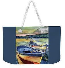 Golden Boats Weekender Tote Bag