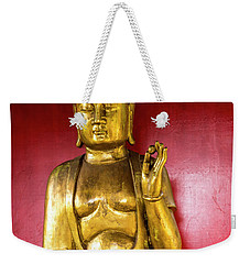 Golden Buddha With The Pearl Of Wisdom Weekender Tote Bag