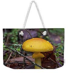 Golden Cap Weekender Tote Bag