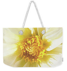 Golden Centre Weekender Tote Bag by Kim Andelkovic