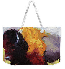 Golden Coat Weekender Tote Bag