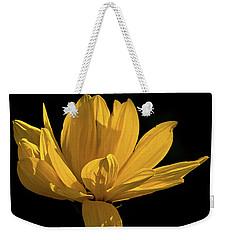 Golden Coreopsis Weekender Tote Bag