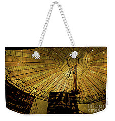 Golden Cosmic Berlin Weekender Tote Bag