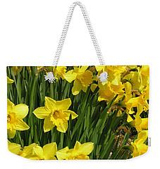 Golden Daffodils Weekender Tote Bag