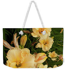 Golden Day Lilies Weekender Tote Bag