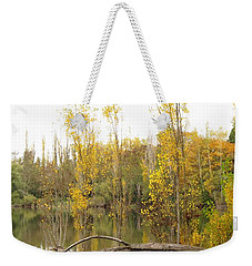 Weekender Tote Bag featuring the photograph Golden Days by I'ina Van Lawick