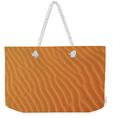Golden Desert Sands Weekender Tote Bag