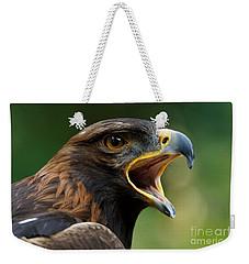 Golden Eagle - Raptor Calling Weekender Tote Bag