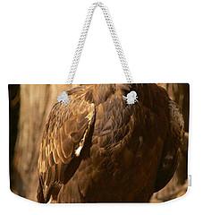 Golden Eagle Weekender Tote Bag by Sean Griffin
