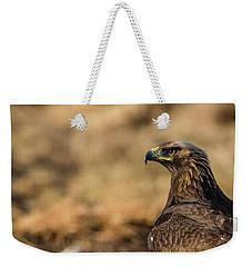 Golden Eagle Weekender Tote Bag by Torbjorn Swenelius