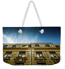 Golden Facade Weekender Tote Bag