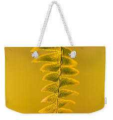 Golden Fern Weekender Tote Bag