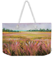 Golden Field Weekender Tote Bag