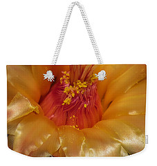 Golden Flower 1 Weekender Tote Bag