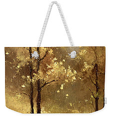 Golden Forest Weekender Tote Bag