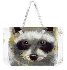 Golden Forest Raccoon  Weekender Tote Bag