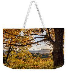 Vermont Framed In Gold Weekender Tote Bag