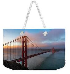 Golden Gate At Sunrise Weekender Tote Bag