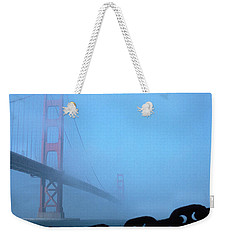 Golden Gate Bridge From Fort Point Weekender Tote Bag