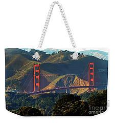 Golden Gate Bridge Weekender Tote Bag by Steven Spak