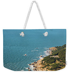 Golden Gate Coast Aloft Weekender Tote Bag