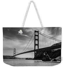 Golden Gate East Bw Weekender Tote Bag