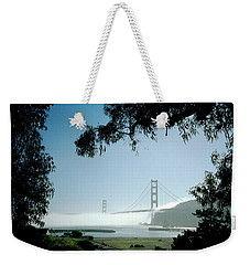 Golden Gate Fog  Weekender Tote Bag