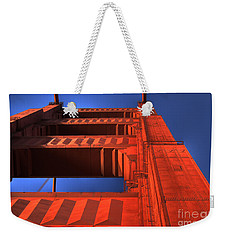Golden Gate Tower Weekender Tote Bag by Jim and Emily Bush