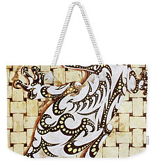 Golden Gecko Weekender Tote Bag by J- J- Espinoza
