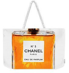 Golden Glow Of Chanel No. 5 Weekender Tote Bag