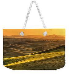 Golden Grains Weekender Tote Bag