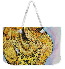 Golden Griffin Weekender Tote Bag