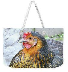 Golden Hen Weekender Tote Bag by Kim Tran